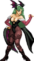 Morrigan Double Res by Ryoga-rg