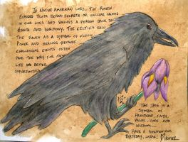 The Raven and The Iris by wulfdragyn