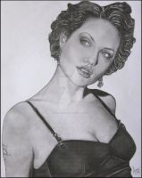 Angelina Jolie by Acaroline05