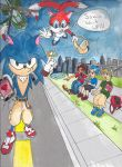 Sonic contest entry by Savarius