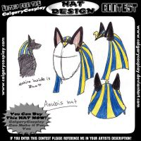Anubis hat design 1 by Haymurus
