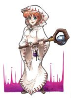 The White Mage by ArtsyMaria