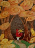 Little Red Riding Hood by skillywidden
