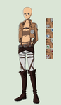 BASE: Attack on Titan Female by Nightmare-Moon222