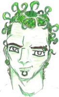 Self View green by InkedNBlood
