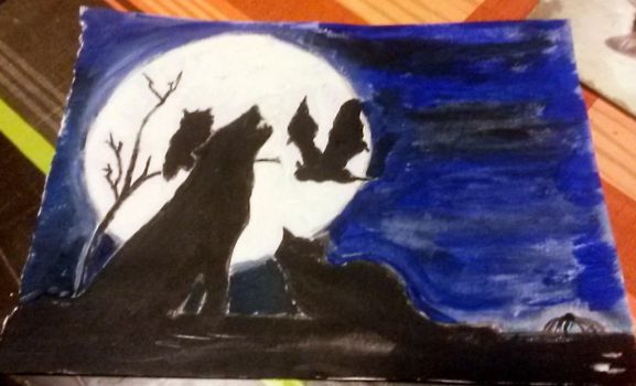 Halloween Project 3 (painted) by circesavatar1990