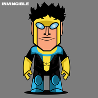 Invincible Toy Design by Yeti-Labs