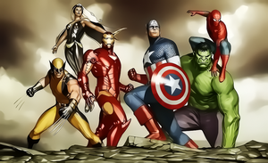 Avengers by Aspersio