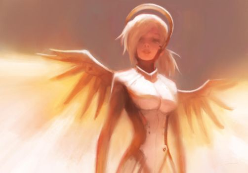 Dr. Angela Ziegler (Overwatch) by Alex-Chow
