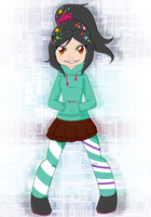 Vanellope by Rumay-Chian