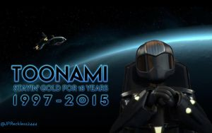 Toonami - Staying Gold for 18 Years by JPReckless2444