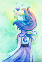 watercolor lapis by Zamiiz