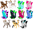 OLD adoptable sheet! Make an offer! by MilkshakeAdopts