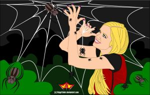 Playing With Spiders featuring Svetlanishe by KingsTailor