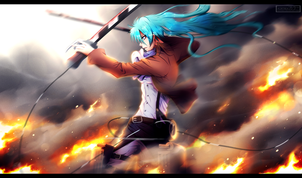 Attack on EDM - Hatsune Miku by Kortrex