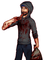 The Corrupted Creature Hub: Cannibal James by Oweeo
