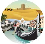 from Doha to Venice by Sturby