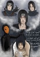 Are you feeling regret, Sasuke by Isi-Angelwings
