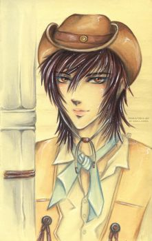 Cowboy Tao Re-draw by Khallandra