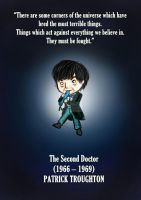 The Second Doctor-Doctor Who fanart by MoztDangerous