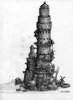 Finished Tower by LordMordrek