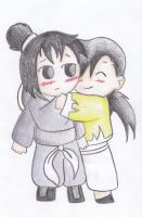 LinFan: All that you need is a hug by AsuruiHiane