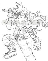 ClouD StrifE MunkY: SketcH by mUnKy01010
