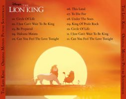 The Lion King Back CD Cover by peachpocket285