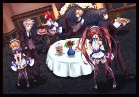 Maids and Butlers by redlunar