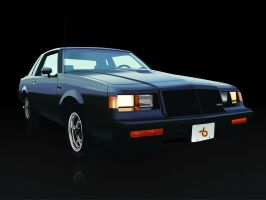 1987 Buick Grand National by wannabemustangjockey