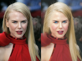Kidman Colorize and retouch by silene7