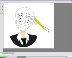 Soul Eater Maka-MS Paint WIP by TheLOL