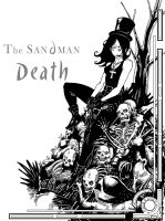 Sandman-Death by BRAINandFAT