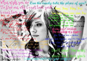 Christina Perri Lyrics by rosejack617
