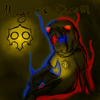 Mage of doom by CheaPet