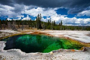Someone left their hat in Yellowstone by Cyberfoxbat
