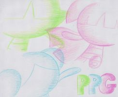 PPG: Pink, Green, and Blue by X-Luminescence