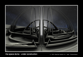 the space dome - under construction by fraterchaos