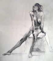 Figure Drawing 6 - Carla by yolque