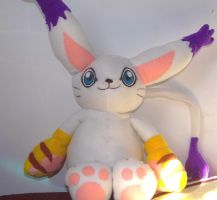 Gatomon Digimon Plush WIP by x-Charis-x