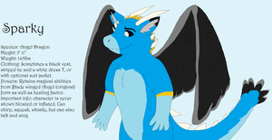 Sparky Angel Dragon by nissandriver217
