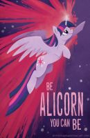 Be Alicorn You Can Be! by sophiecabra