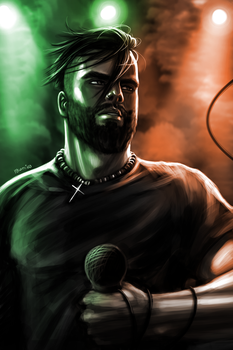 Jesse Leach Colors by AustinToya