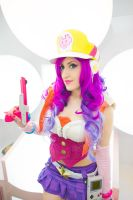 Arcade Miss Fortune cosplay 4 by spacechocolates