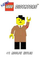 T shirt 2: Lego Hitler by mattcantdraw