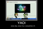 Demotivational Poster -  Yaoi by Lucarity