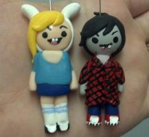Charms: Adventure Time-Fiolee by pinabear
