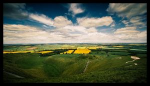 White Horse Hill by Dimitri86