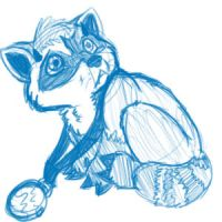 little Ashamac scribble by Stais