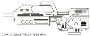CGM-30 Assault Rifle by c-force